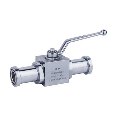BKH-SAE-FS、MKH-SAE-FS系列高压球阀(带SAE接头)